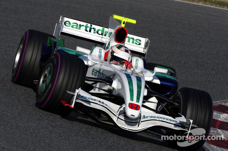 Perto do fim da temporada, chegou a testar pela Honda, de olho em uma vaga em 2009. Guiou ao lado de Bruno Senna, mas nenhum deles assumiu o posto com a saída do time e a chegada da Brawn GP.