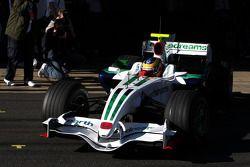 Bruno Senna, Honda Racing F1 Team, pour la première fois dans une formule 1