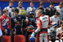Shooting des pilotes: Jaime Alguersuari et Mika Maki