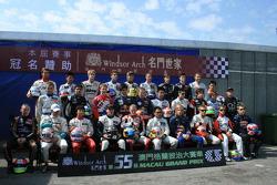 Shooting des pilotes: le lineup du Grand Prix de Macau 2008