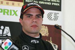 Roberto Streit content de sa troisième place