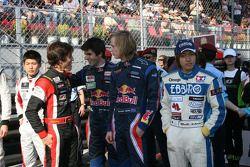Merhi, Alguersuari et Hartley blaguent ensemble