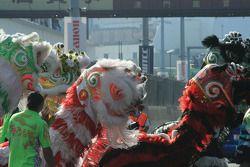Les danseurs de lion