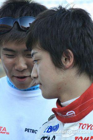 Keisuke Kunimoto avant le grand prix