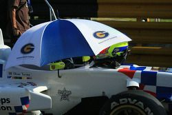 La voiture d'Oliver Turvey est prête