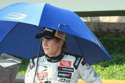 Renger van der Zande reste à l'abri de la chaleur