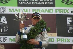 Podium: second place Edoardo Mortara