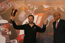 Yvan Muller and his new trophy
