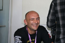 Gabriele Tarquini after losing the WTCC title fight to Yvan Muller