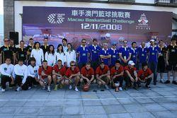 Tiri liberi a basket: i team