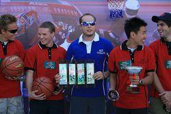 Tiri liberi a basket: Rob Huff