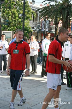 Tiri liberi a basket: Maki e Mortara