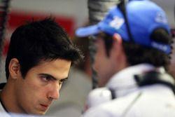 Lucas Di Grassi et Bruno Senna, pilotes d'essai Honda Racing F1 Team