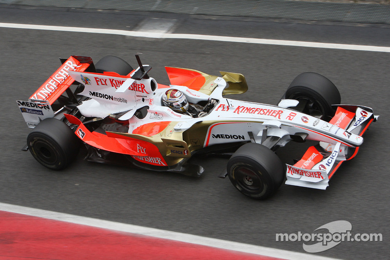 Adrian Sutil, Force India VJM01 (2)