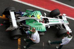 Lucas Di Grassi, pilote d'essai Honda Racing F1 Team
