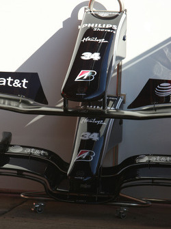 Comparaison d'ailerons avant WilliamsF1 Team