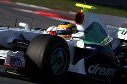Bruno Senna, pilote d'essai Honda Racing F1 Team