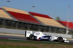 Christian Klien, Test Driver, BMW Sauber F1 Team, Interim 2009 car