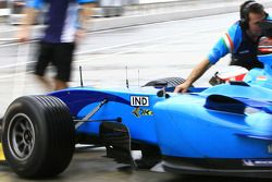 Narain Karthikeyan of A1 Team India