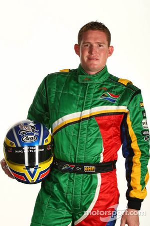 Gavin Cronje, driver of A1 Team South Africa
