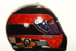 J.R. Hildebrand, driver of A1 Team USA helmet