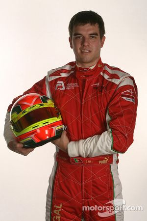 Armando Parente, driver of A1 Team Portugal