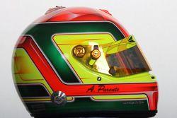 Le casque d'Armando Parente, pilote de A1 Team Portugal