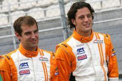 Jeroen Bleekemolen et Dennis Retera, pilotes de A1 Team Netherlands