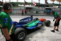 Gavin Cronje, pilote de A1 Team South Africa