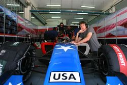 Marco Andretti et J.R. Hildebrand, pilotes A1 Team USA