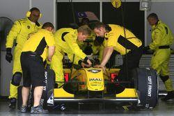 Le garage A1 Team Malaysia