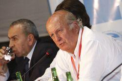 Conférence de presse : Carlos Garcia Remohi, président de la commission sportive ACA