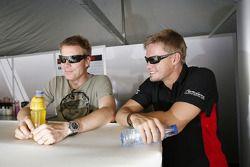 Mikael Forsten et Markus Palttala