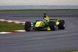 John Martin of A1 Team Australia