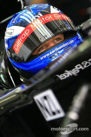 Earl Bamber de A1 Team New Zealand