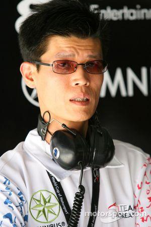 Jung-Yong Joshua Kim Seat Holder of A1 Team Korea