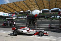 Clivio Piccione pilote A1 Team Monaco