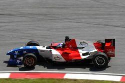 Marco Andretti, coureur de l'équipe A1 des États Unis