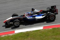 Loic Duval, driver of A1 Team France
