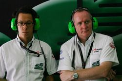 Teddy Yip, Seat Holder of A1 Team Ireland and Mark Galagher, Seat Holder of A1 Team Ireland