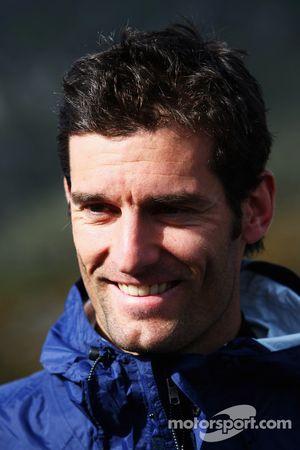 Launceston, Australia: Mark Webber looks on prior to the start