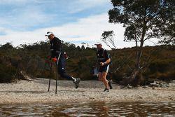 Launceston, Australia: Michael Milton, Team Toyota action