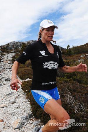 Launceston, Australia: Deanna Blegg of Team Keen in action