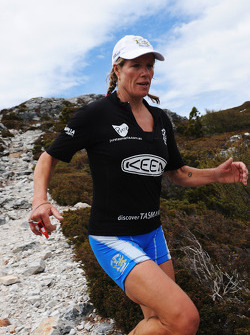 Launceston, Australia: Deanna Blegg of Team Keen in action