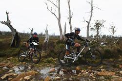 Launceston, Australia: Team Red Bull in action