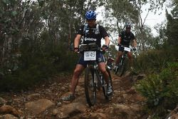Launceston, Australia: Richard Palmer, Team Telstra action