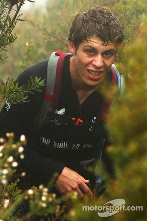 Launceston, Australia: Chris Wooton in action