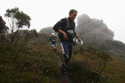 Launceston, Australia: Jarad Kohlar and Deanna Blegg of Team Keen in action