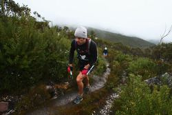 Launceston, Australia: Mark Webber and Emma Weitnauer of Team Pure Tasmania in action