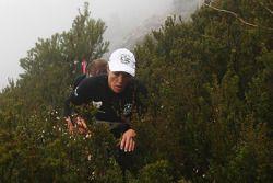 Launceston, Australia: Deanna Blegg and Jarad Kohlar of Team Keen in action
